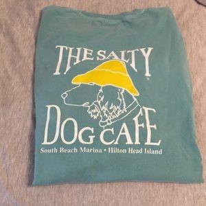 Long sleeve Salty Dog t shirt